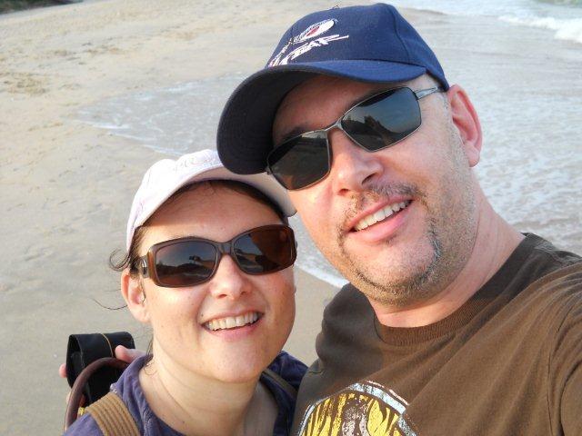 On the beach Huahin